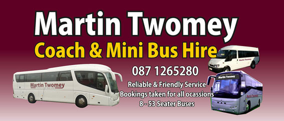 Martin Twomey Mini Bus & Coach Hire